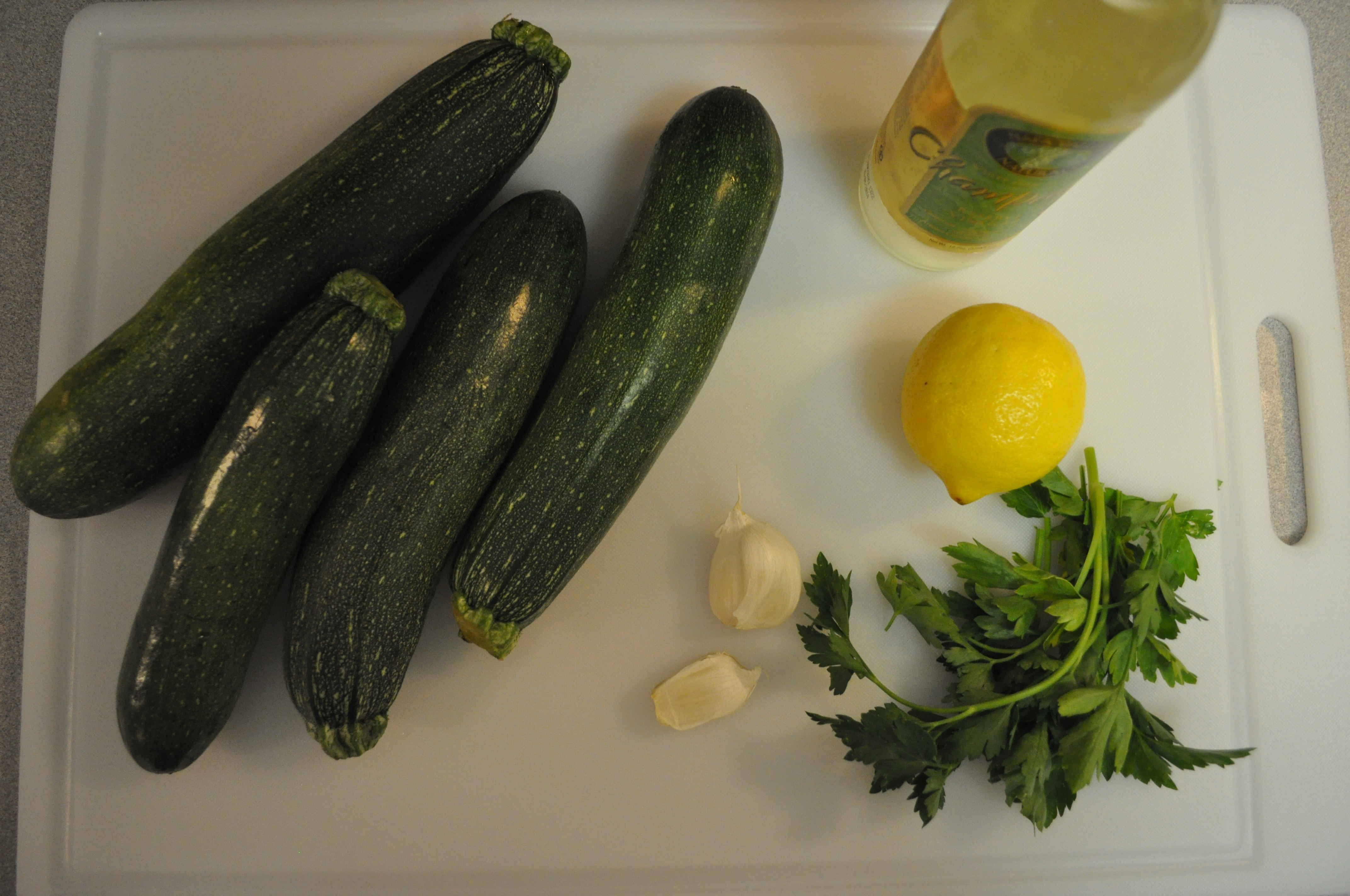 zucchini pasta ingredients