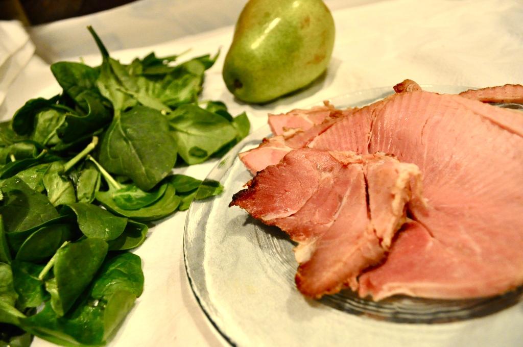 leftover Christmas ham salad