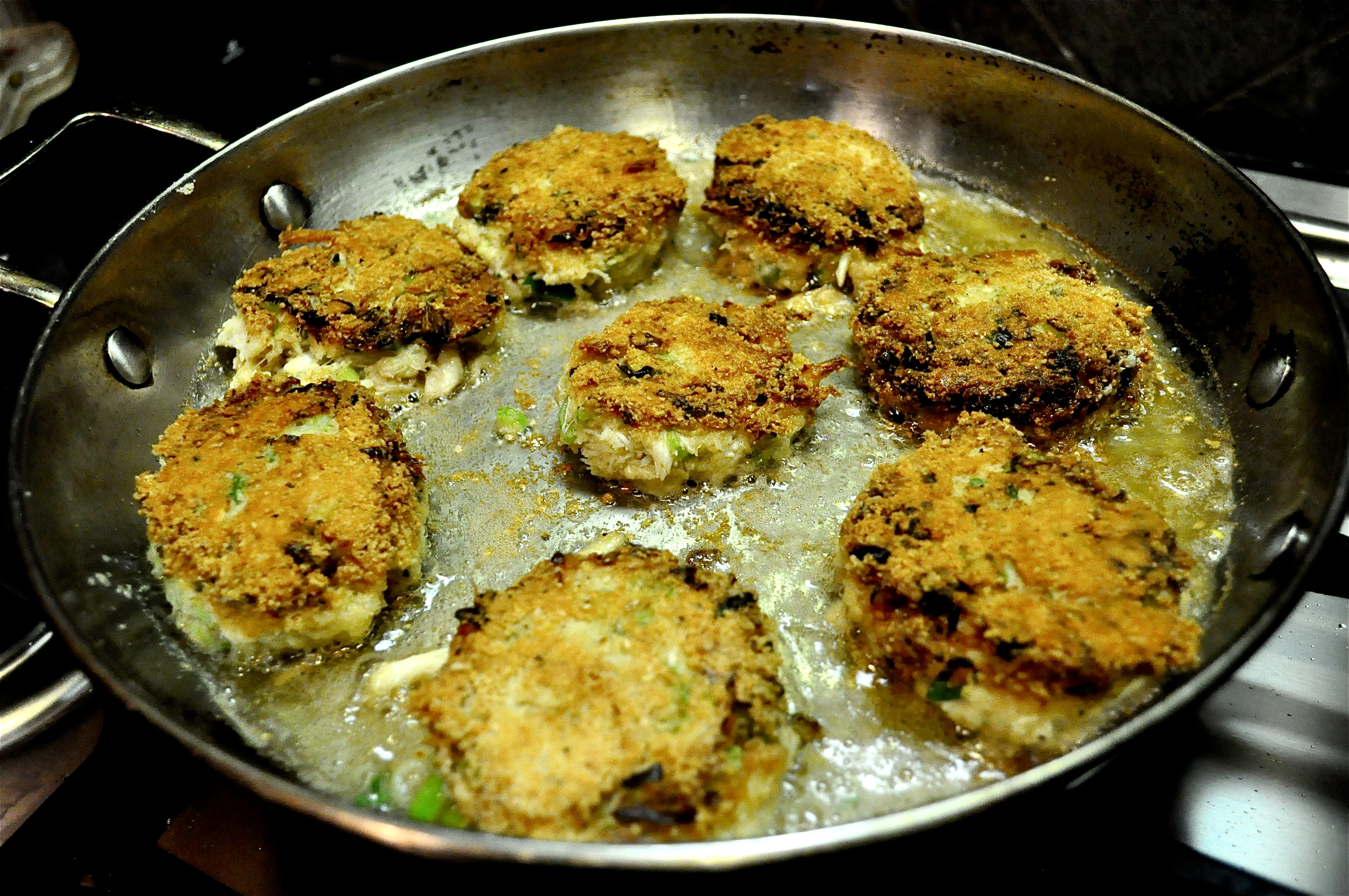 Crab Cakes Almond Meal