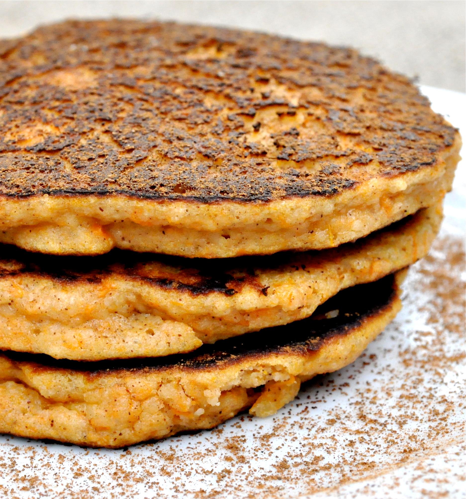 Paleo Sweet Potato Pancakes Fed Amp Fit