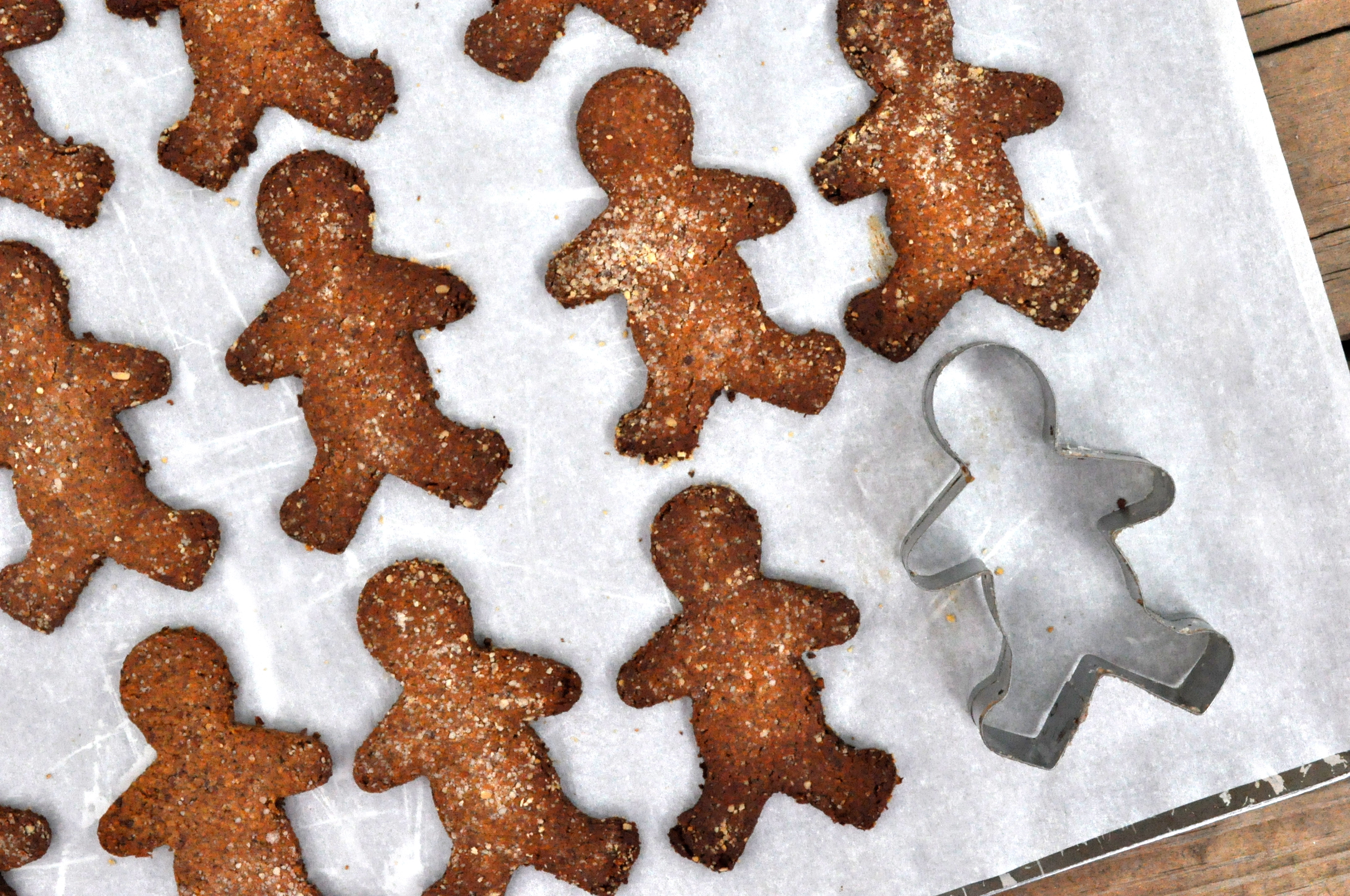 Fed & Fit » Paleo Spicy Gingerbread Cookies