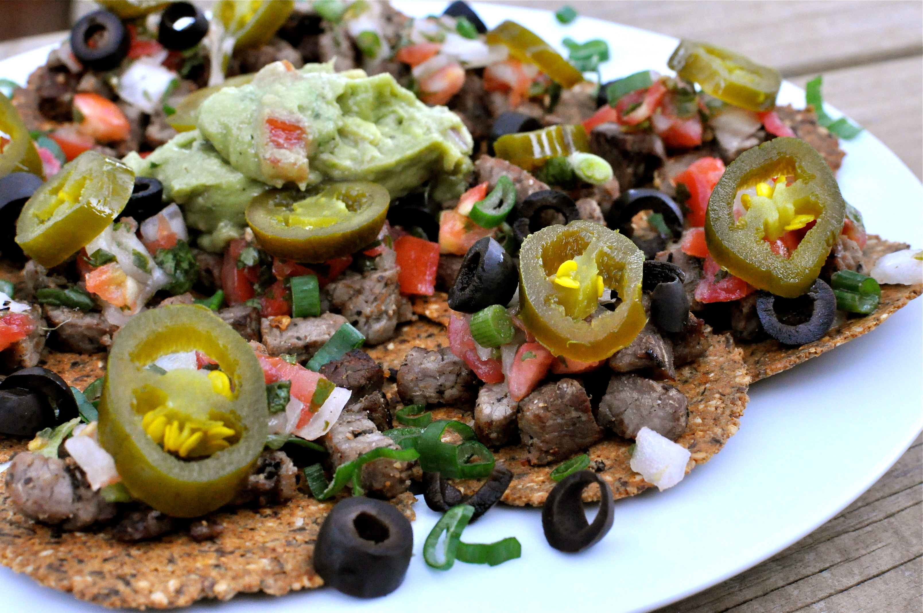 Fed & FitPaleo Beef Fajita Nachos - Fed & Fit