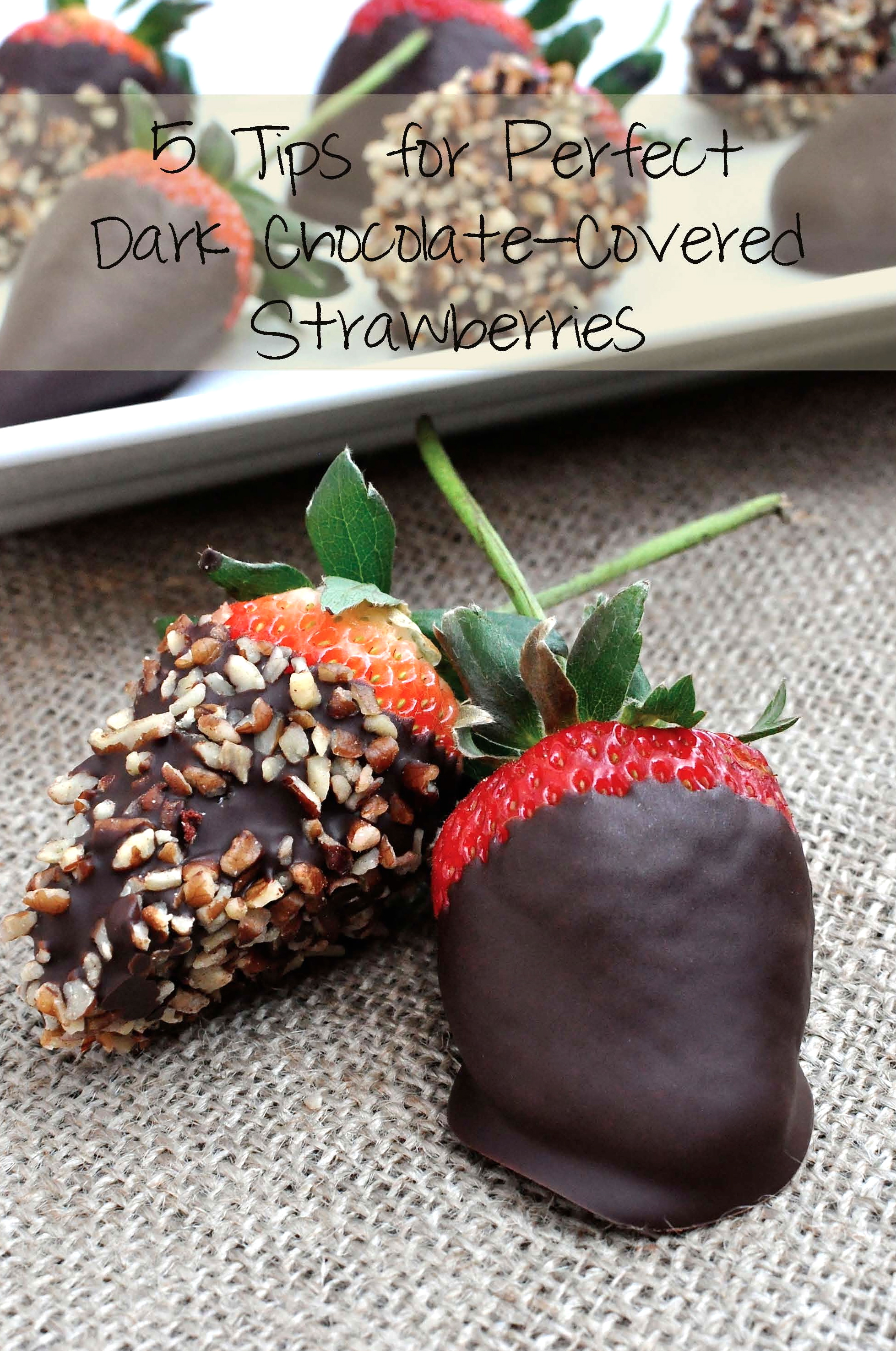 How To Melt Dark Chocolate For Strawberries