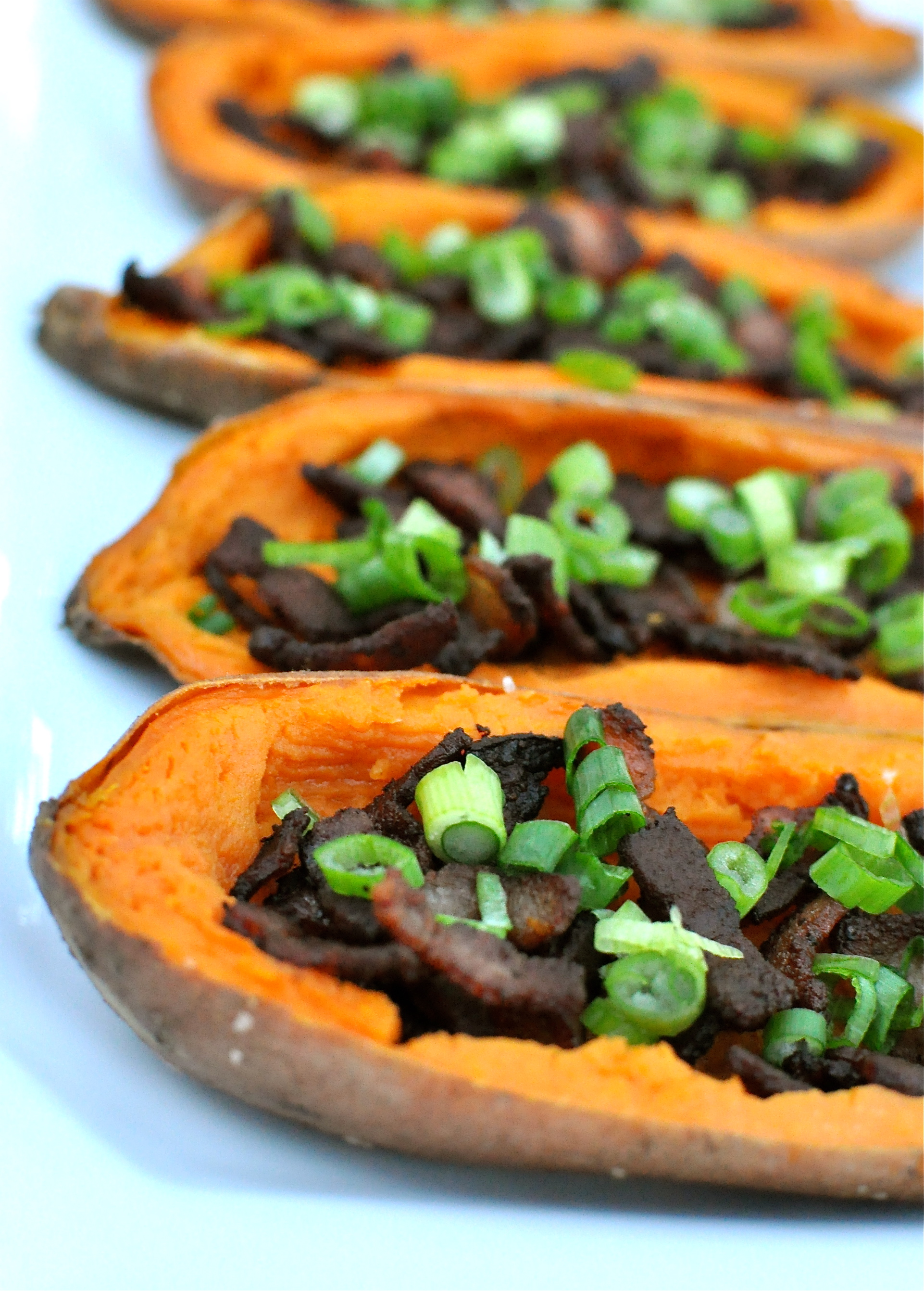 Fed & FitLoaded Paleo Sweet Potato Skins - Fed & Fit