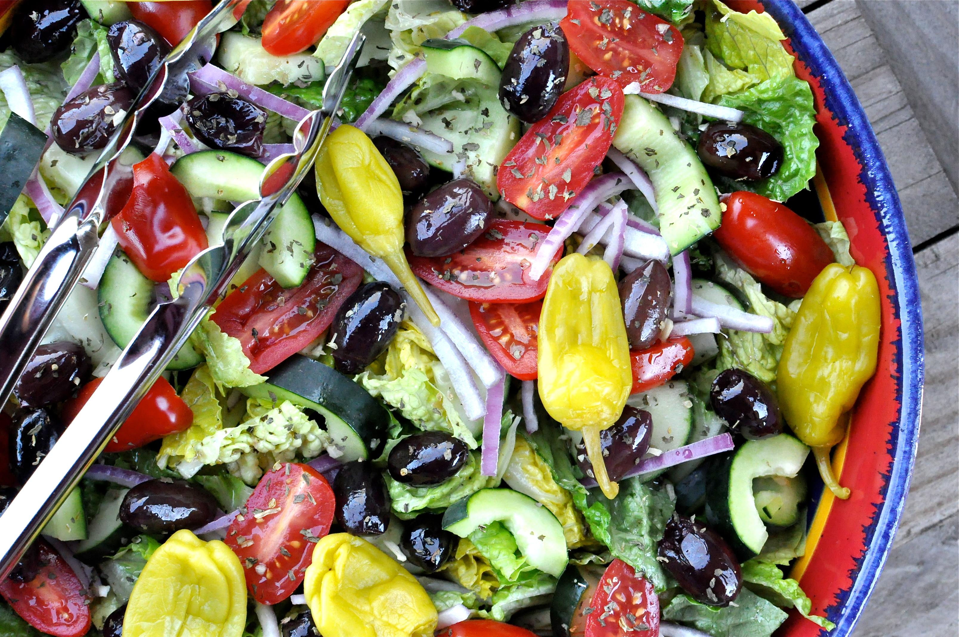 Watch Skewered Greek Salad video