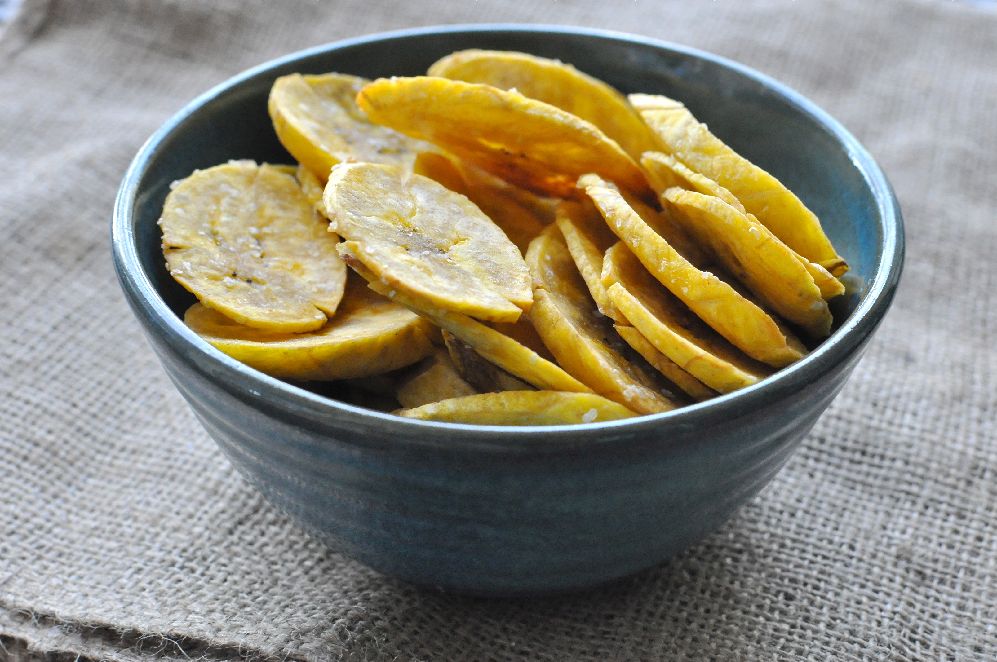 Paleo Plantain Chips - Fed & Fit