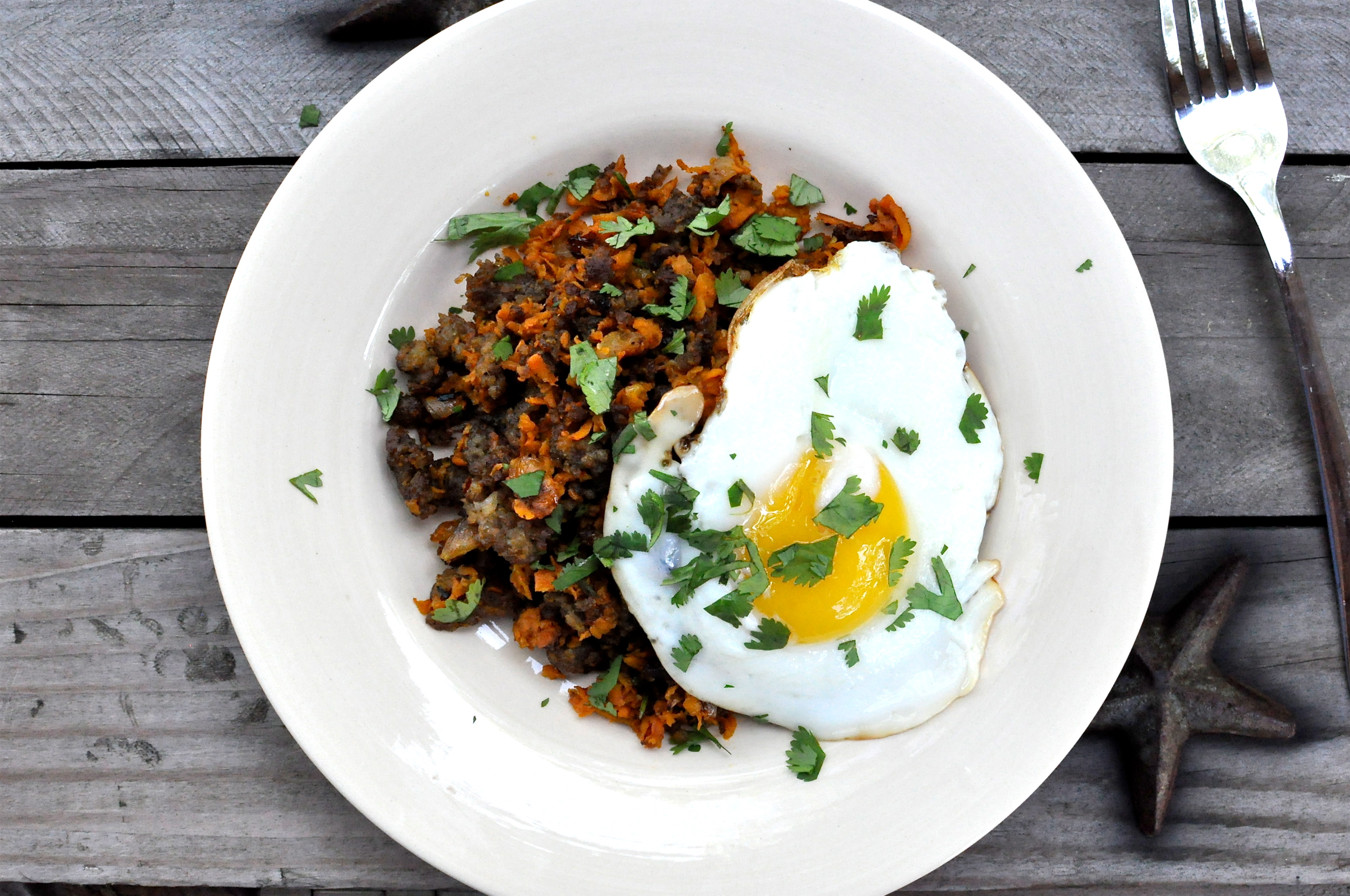 Paleo Sweet Potato Breakfast Hash - Fed & Fit