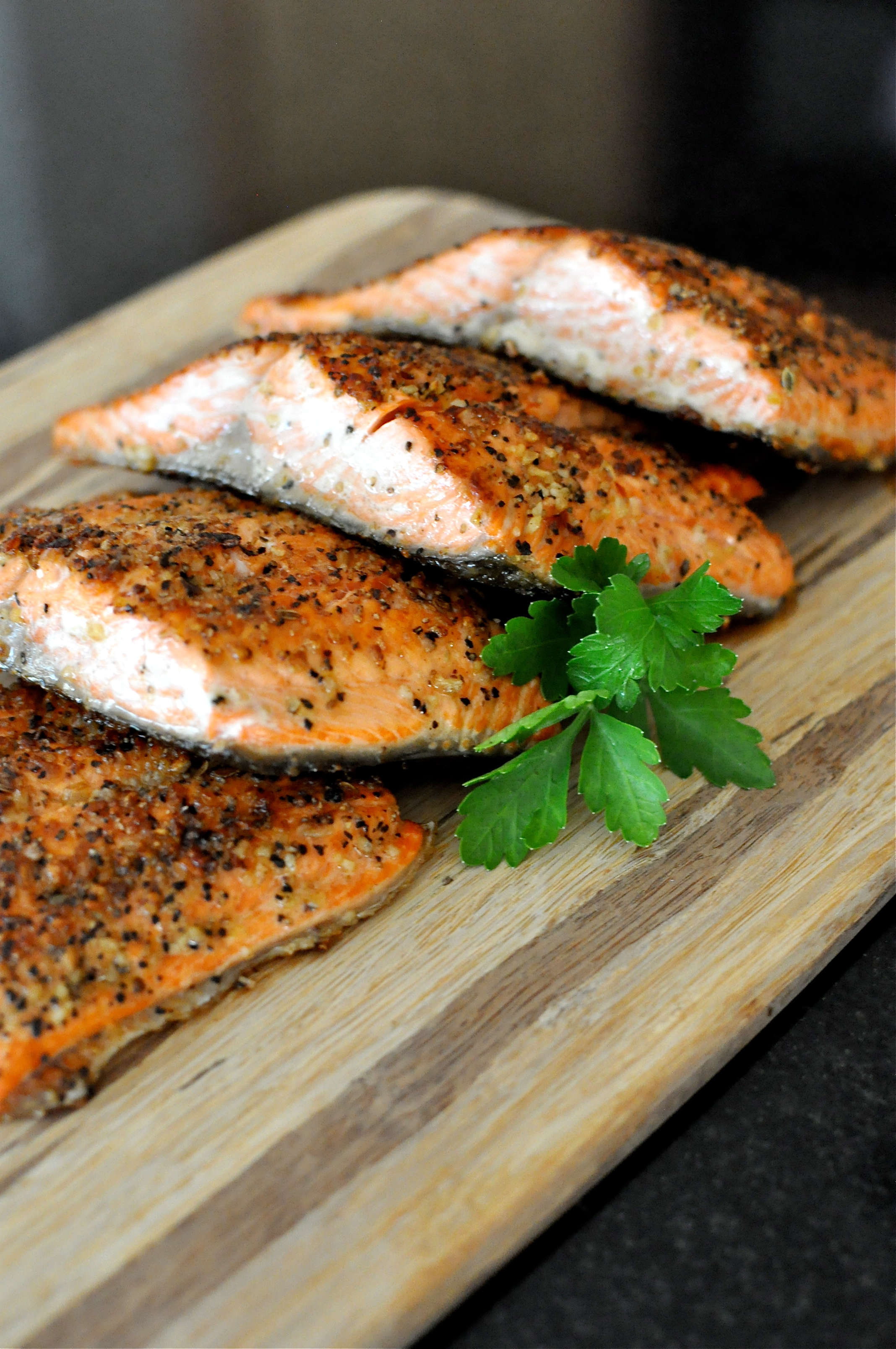 Paleo Peppered Salmo  Fed And Fit