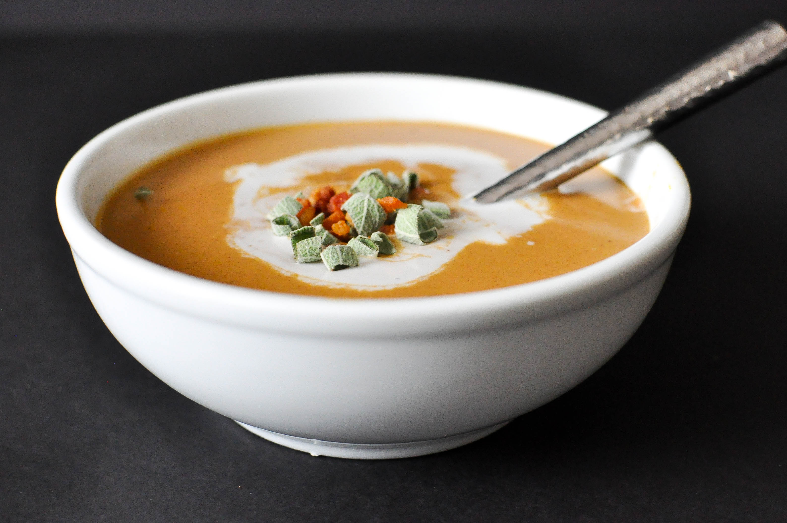 how to make creamy homemade pumpkin soup