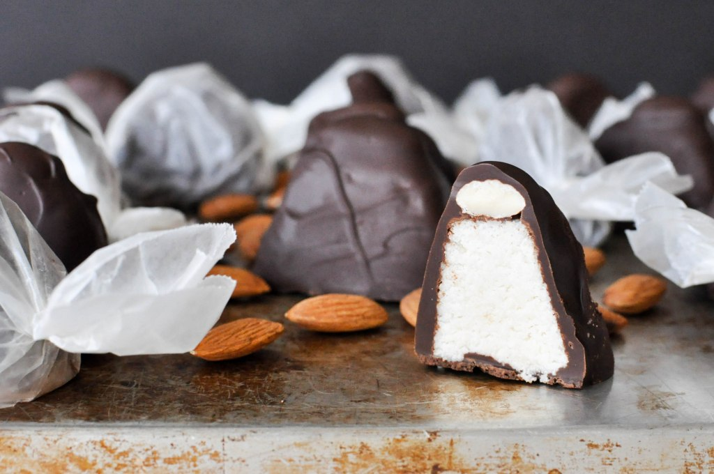 Paleo Almond Joys | Fed and Fit-59