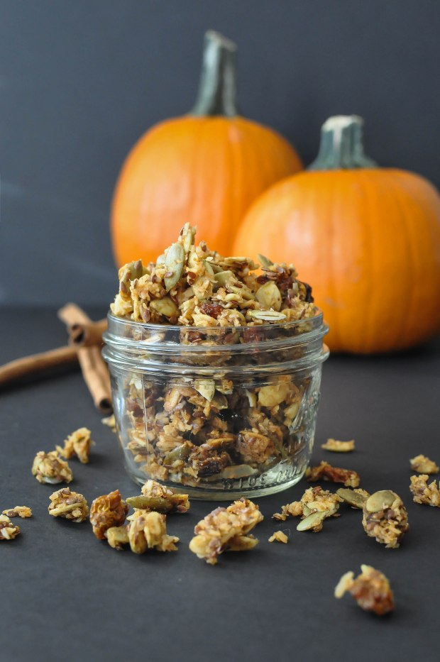 Paleo Pumpkin Spice Granola | Fed and Fit-4