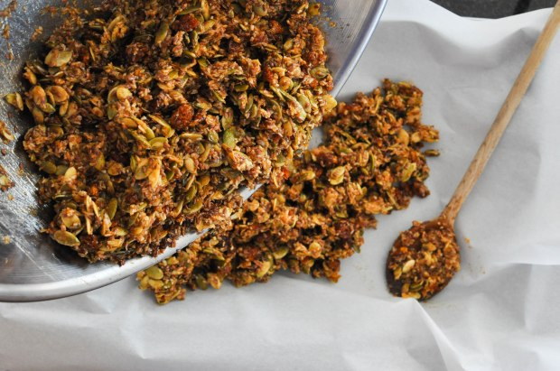 Paleo Pumpkin Spice Granola | Fed and Fit-42