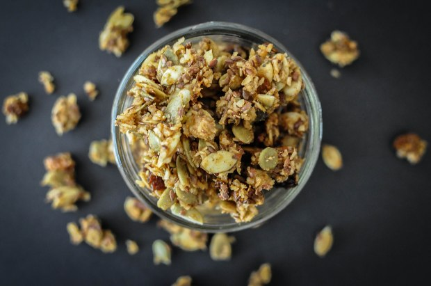 Paleo Pumpkin Spice Granola | Fed and Fit-48