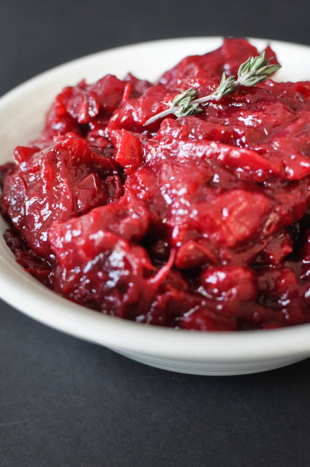 Easy Homemade Paleo Cranberry Sauce | Fed+Fit-30