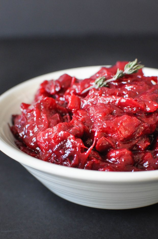 Easy Homemade Paleo Cranberry Sauce | Fed+Fit-4