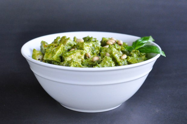 Paleo Chicken Pesto Salad | Fed and Fit-19