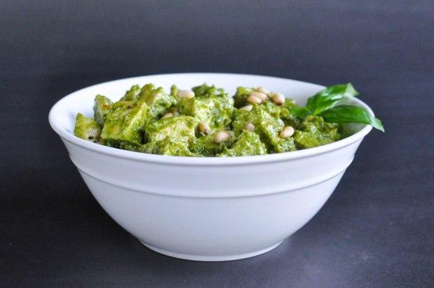 Paleo Chicken Pesto Salad | Fed and Fit-19