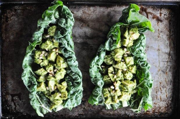 Paleo Chicken Pesto Salad | Fed and Fit-21