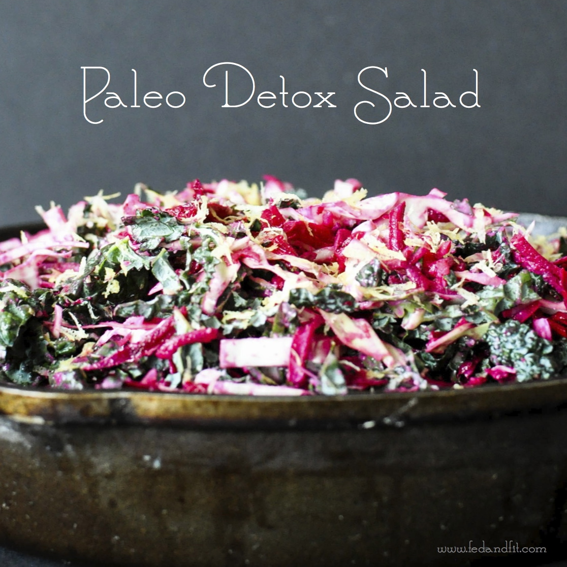 Fed & FitPaleo Detox Salad - Fed & Fit