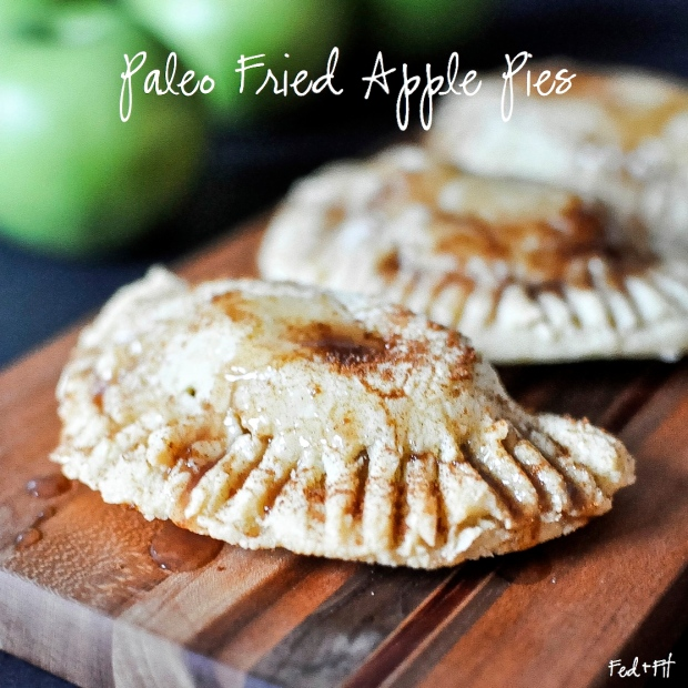 Paleo Fried Apple Pies | Fed+Fit-1