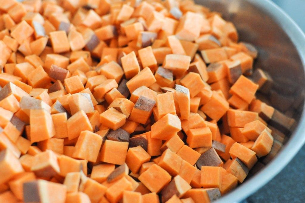 Paleo Sweet Potato Cranberry Stuffing   Fed+Fit-15