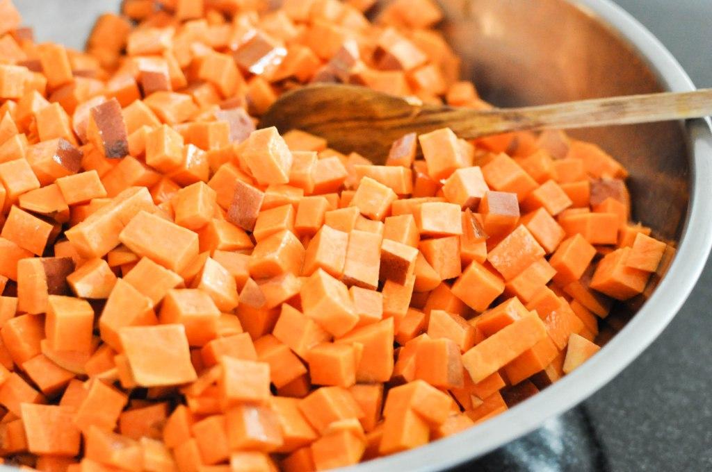 Paleo Sweet Potato Cranberry Stuffing   Fed+Fit-22