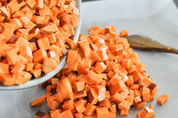 Paleo Sweet Potato Cranberry Stuffing | Fed+Fit-23