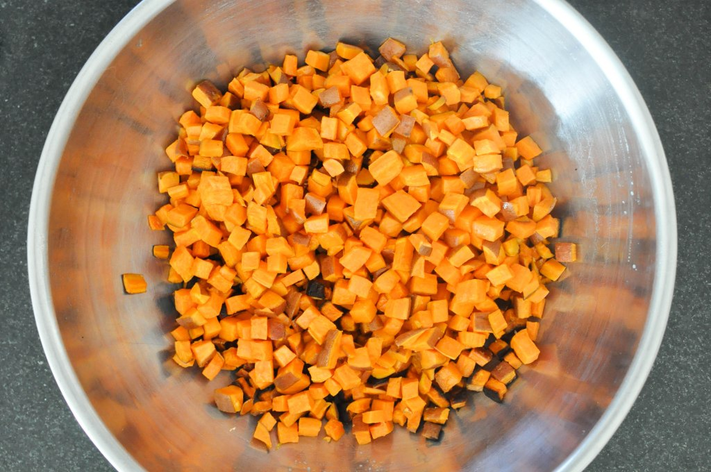 Paleo Sweet Potato Cranberry Stuffing   Fed+Fit-59