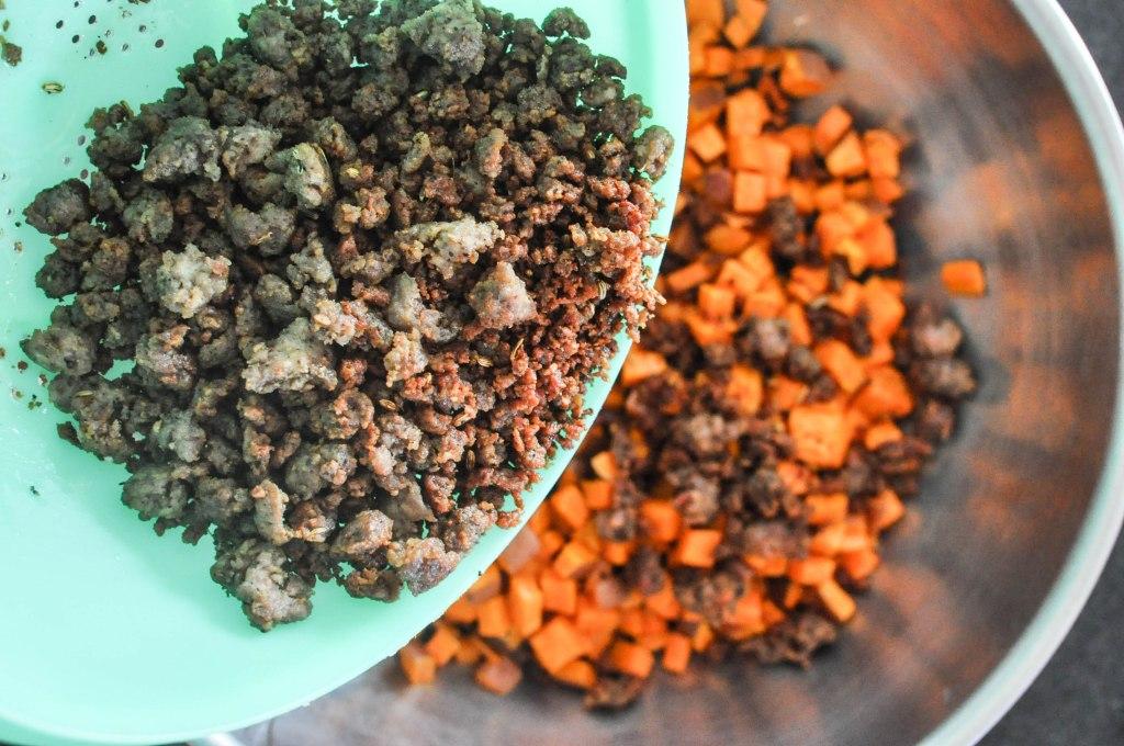 Paleo Sweet Potato Cranberry Stuffing   Fed+Fit-60