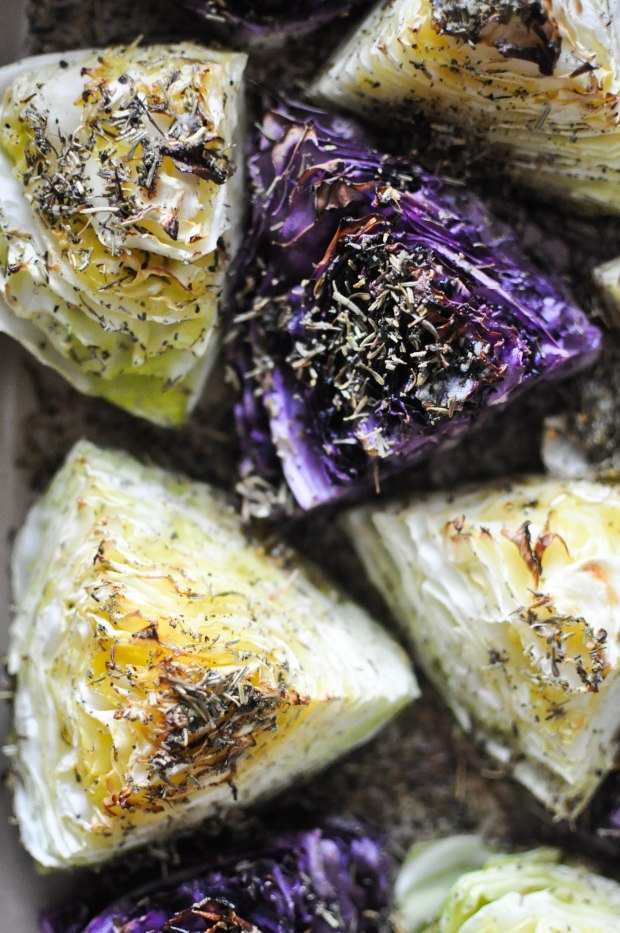 Gather's Roasted Green and Purple Cabbage   Fed+Fit-1