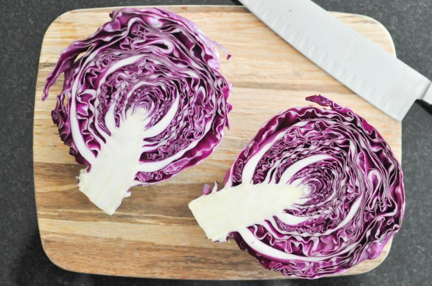 Gather's Roasted Green and Purple Cabbage   Fed+Fit-12