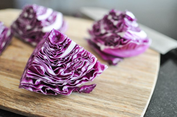 Gather's Roasted Green and Purple Cabbage   Fed+Fit-15