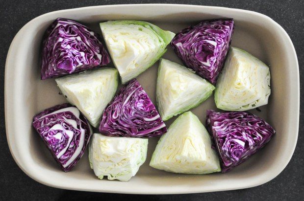 Gather's Roasted Green and Purple Cabbage   Fed+Fit-16