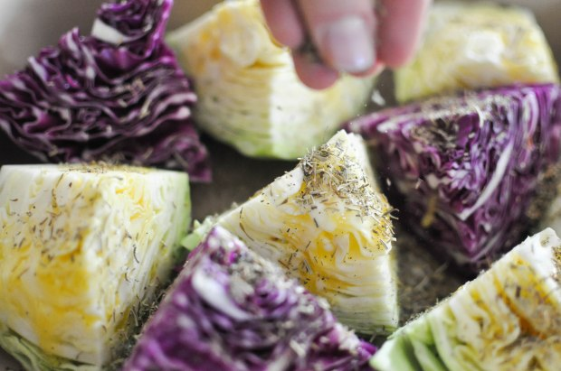 Gather's Roasted Green and Purple Cabbage   Fed+Fit-20