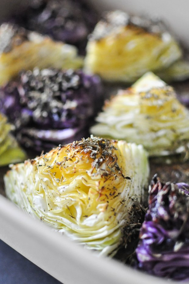 Gather's Roasted Green and Purple Cabbage   Fed+Fit-22