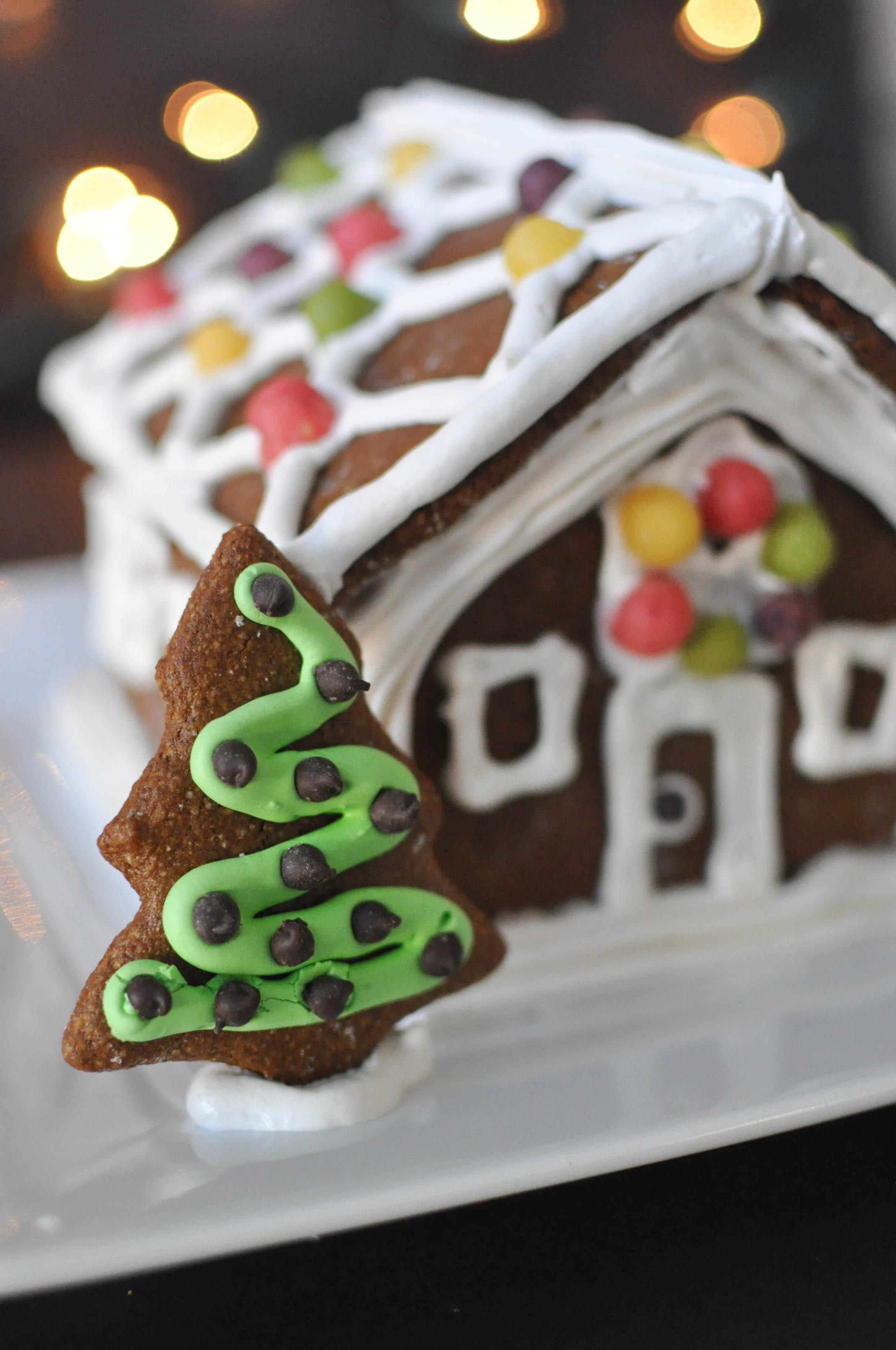 paleo gingerbread house fed fit. Black Bedroom Furniture Sets. Home Design Ideas