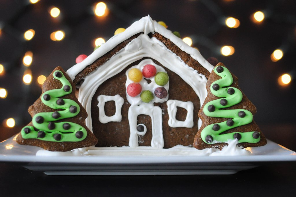 Paleo Gingerbread House | Fed+Fit-2