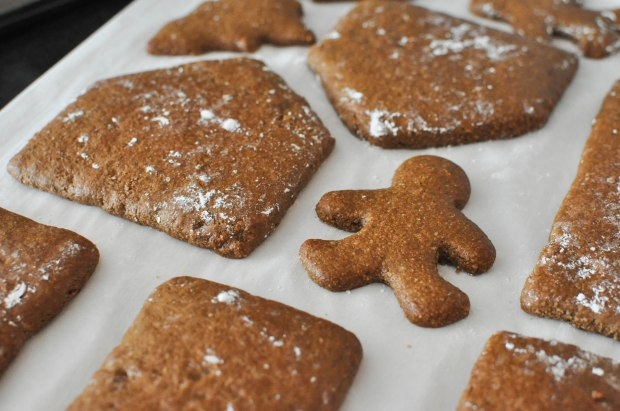 Paleo Gingerbread House | Fed+Fit-55