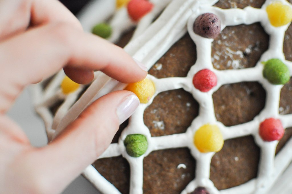 Paleo Gingerbread House | Fed+Fit-91