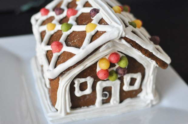 Paleo Gingerbread House | Fed+Fit-92