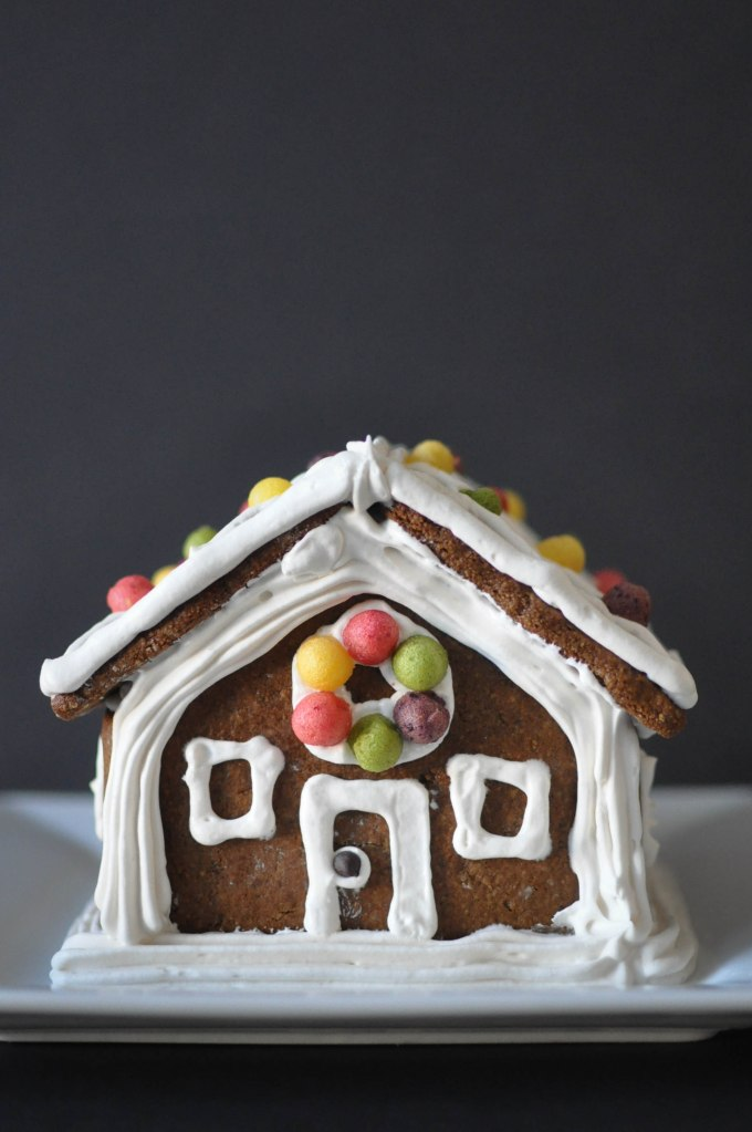 Paleo Gingerbread House | Fed+Fit-93