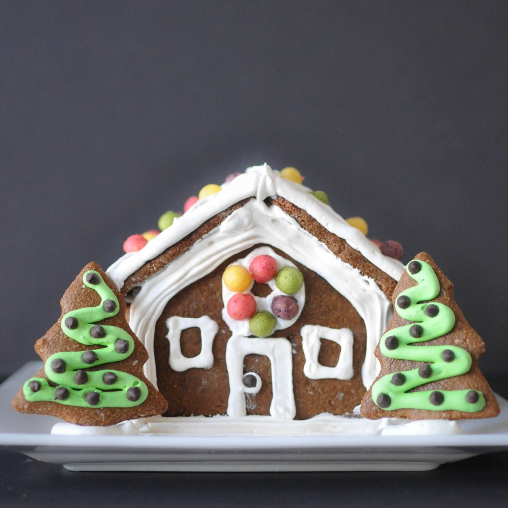 Paleo Gingerbread House | Fed+Fit-95