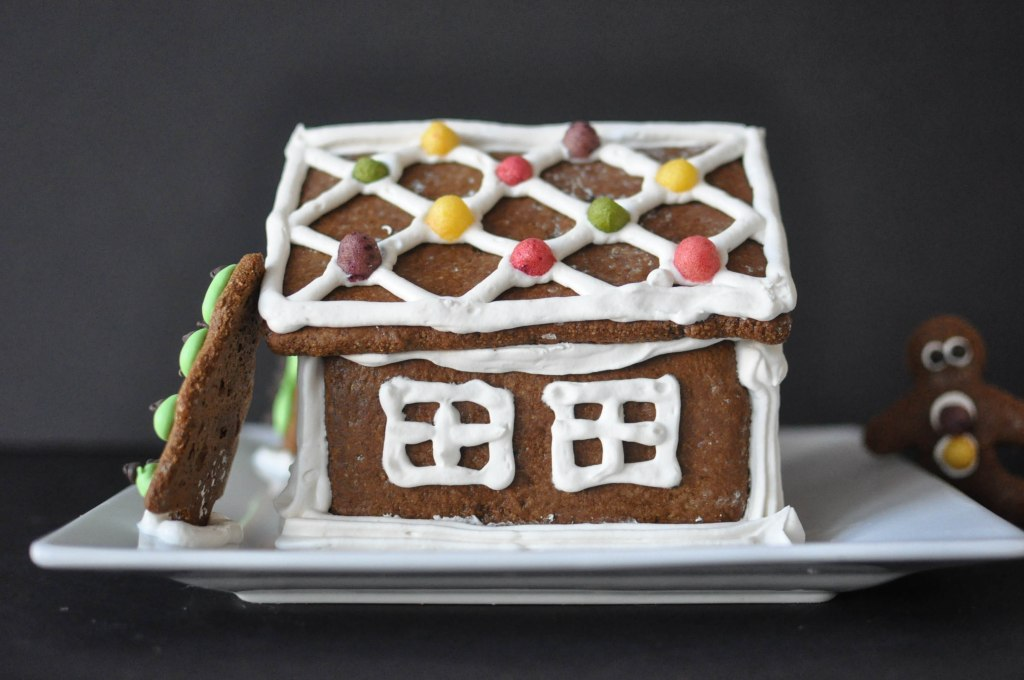Paleo Gingerbread House | Fed+Fit-96