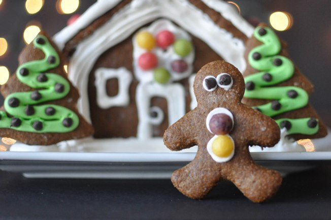Paleo Gingerbread House | Fed+Fit-97