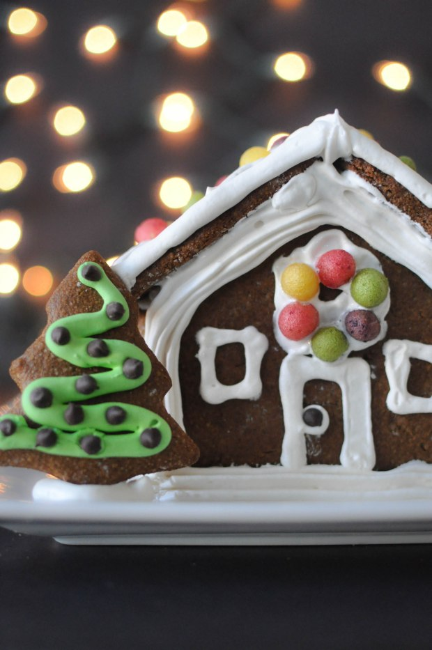 Paleo Gingerbread House | Fed+Fit-98