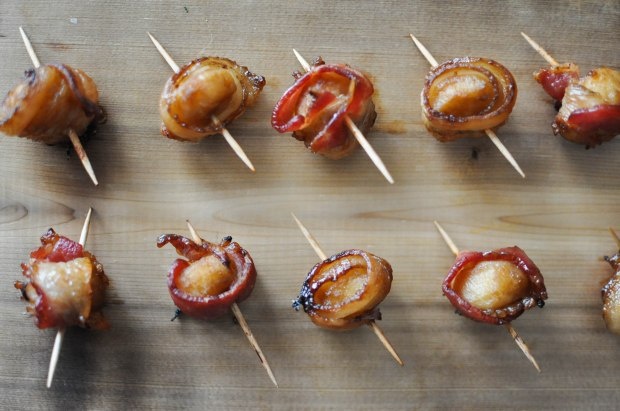 Paleo Happy Hour Bacon Water Chestnuts | Fed+Fit-26