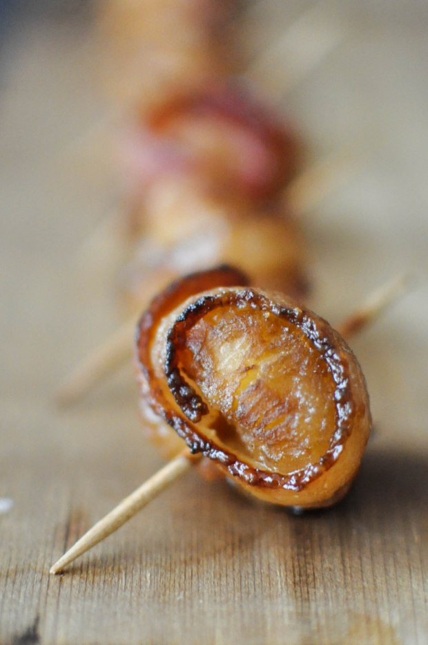 Paleo Happy Hour Bacon Water Chestnuts | Fed+Fit-4