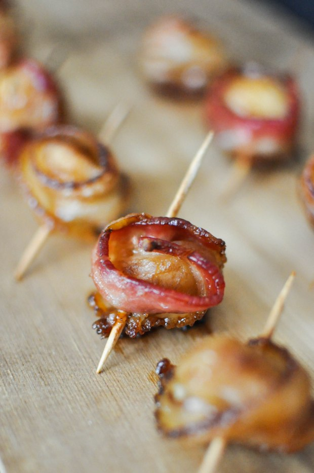 Paleo Happy Hour Bacon Water Chestnuts | Fed+Fit-5