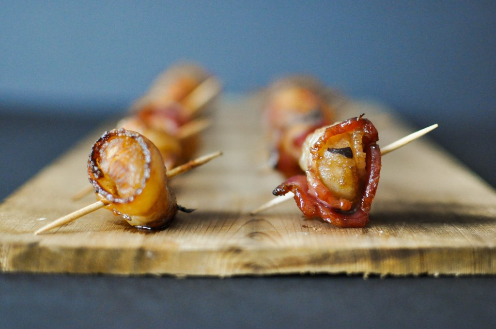 Paleo Happy Hour Bacon Water Chestnuts | Fed+Fit-6