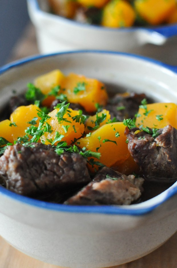Paleo Winter Squash and Beef Stew | Fed+Fit-2